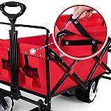 BEAU JARDIN Folding Push Pull Wagon Collapsible
