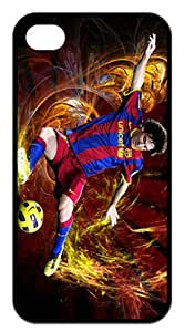 Hard Case FC Lionel Messi Cover for iPhone 4/4s At&t Sprint Verizon