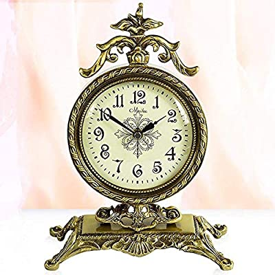 XHMCDZ Reloj Retro de Abuelo, Reloj de Mesa Retro Europeo, Relojes ...