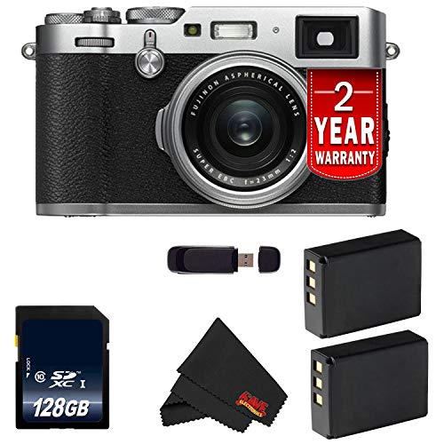 Fujifilm X100F 24.3 MP APS-C Digital Camera (International Version) (Silver 128GB Bundle) Review