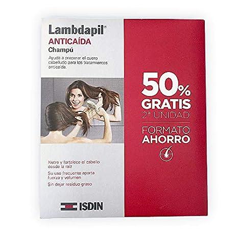 Lambdapil Champú anticaída 400 ml. 2º unidad 50%