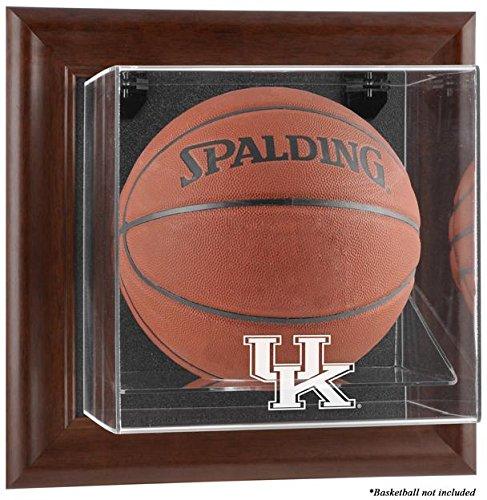 Kentucky Wildcats Brown Framed Wall Mountable Basketball Display ()