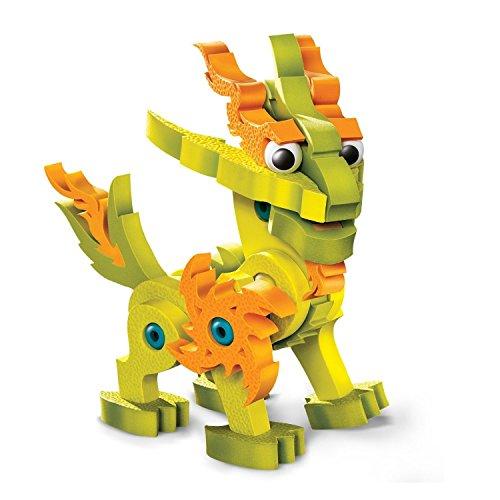 - Bloco Toys Lightnix Dragon of The Light Building Kit Toy