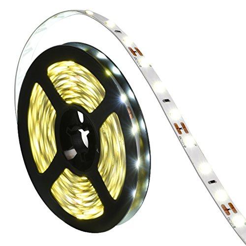 Led Light Strip,Oak Leaf 16.4ft SMD2835 4W Flexible Led Strips Lighting For Garden/Home/Under Cabinets/Kitchen/Car/Bar,DIY Party Decoration Lighting,12V,Warm White (White Lights For Under Car compare prices)