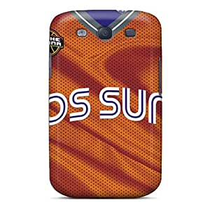 Anti-Scratch Hard Cell-phone Cases For Samsung Galaxy S3 (VfF19852qGOb) Custom HD Phoenix Suns Pattern