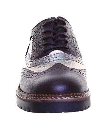 Pour Lacets Femme À Justin Ville Marron Reece Ines Chaussures De x6xwqS0YB