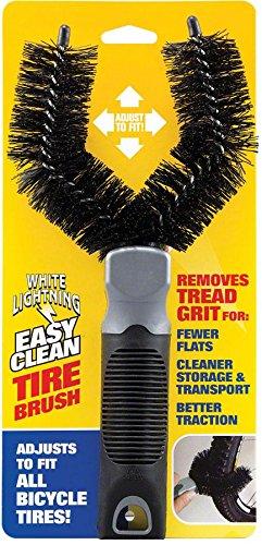 White Lightning Tire Cleaning Brush