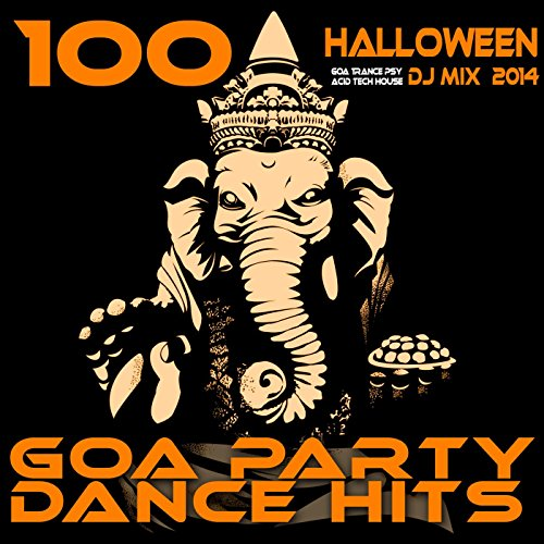 100 Halloween Hits Goa Trance Psy Acid Tech House DJ MIX 2014 - Goa Party Dance -