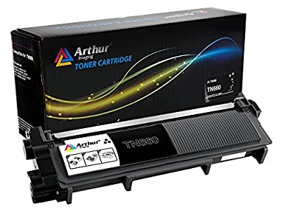 Arthur Imaging Compatible High Yield Toner Cartridge Replacement for Brother TN630 TN660 (Black, 1-Pack)
