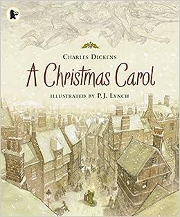 A Christmas Carol Book Cover.A Christmas Carol Amazon Co Uk Charles Dickens P J