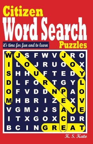 Download Citizen World Search Puzzles (Volume 1) PDF