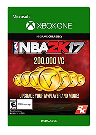 NBA 2K17: 200,000 VC - Xbox One Digital Code