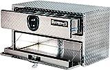 Buyers Products Diamond Tread Aluminum Underbody Truck Box w/ Drawer (20x18x48 Inch)