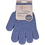 1 Pair EvridWear Strong Exfoliating Hydro Body Scrub Gloves. Dead Skin Cell Remover. Bath and Shower Gloves for deep…
