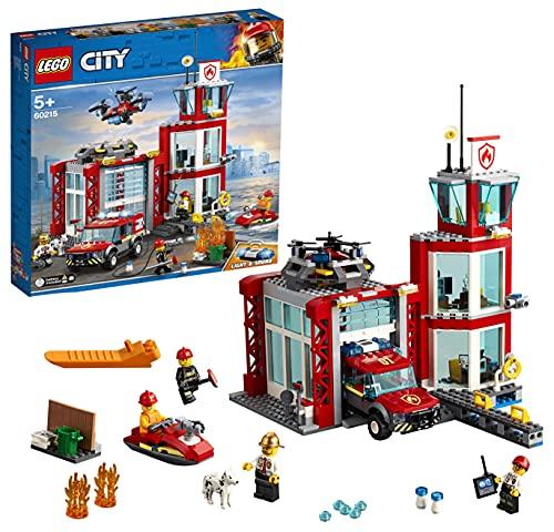 LEGO CITY Fire Station Building Blocks For Kids  509 Pcs 60215