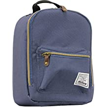 Hilroy Heritage Bowie Lunch Bag, Insulated, 5-1/2 x 9 x 10-1/2 Inches, Blue (89533)