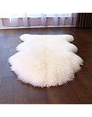 HEQUN Faux Bont Schapenskin Style Rug Faux Fleece Stoel Cover Seat Pad Soft Fluffy Shaggy Ruimte Tapijten voor Slaapkamer Sofa Vloer