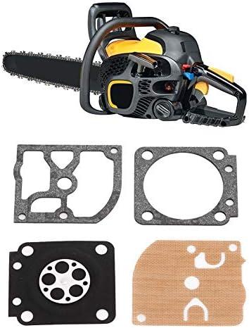 Herramienta de reparaci/ón del carburador Terisass Kit de reconstrucci/ón del ajuste del carburador Junta Juego de reparaci/ón del carburador apto para ZAMA Rb-129 P3314WS P3818AV P4018WM PP3816 PP4018 P