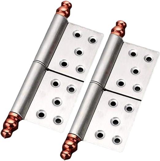 Pair of Stainless Steel 3 Self-Closing Spring Door Hinge