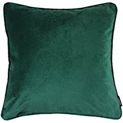 "McAlister Plush Matt Velvet 20"" Decor Pillow Cover 