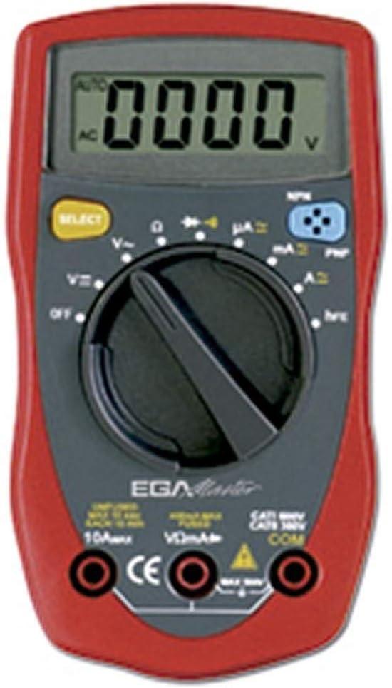 Multimetro digital 500v acv Egamaster