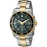 Victorinox Men's 241693 Maverick Chronograph Two-Tone Stainless Steel Bracelet Watch