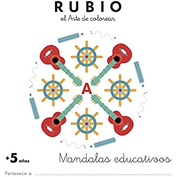 Mandala educativo +5 años: Amazon.es: ENRIQUE RUBIO POLO, SLU: Libros