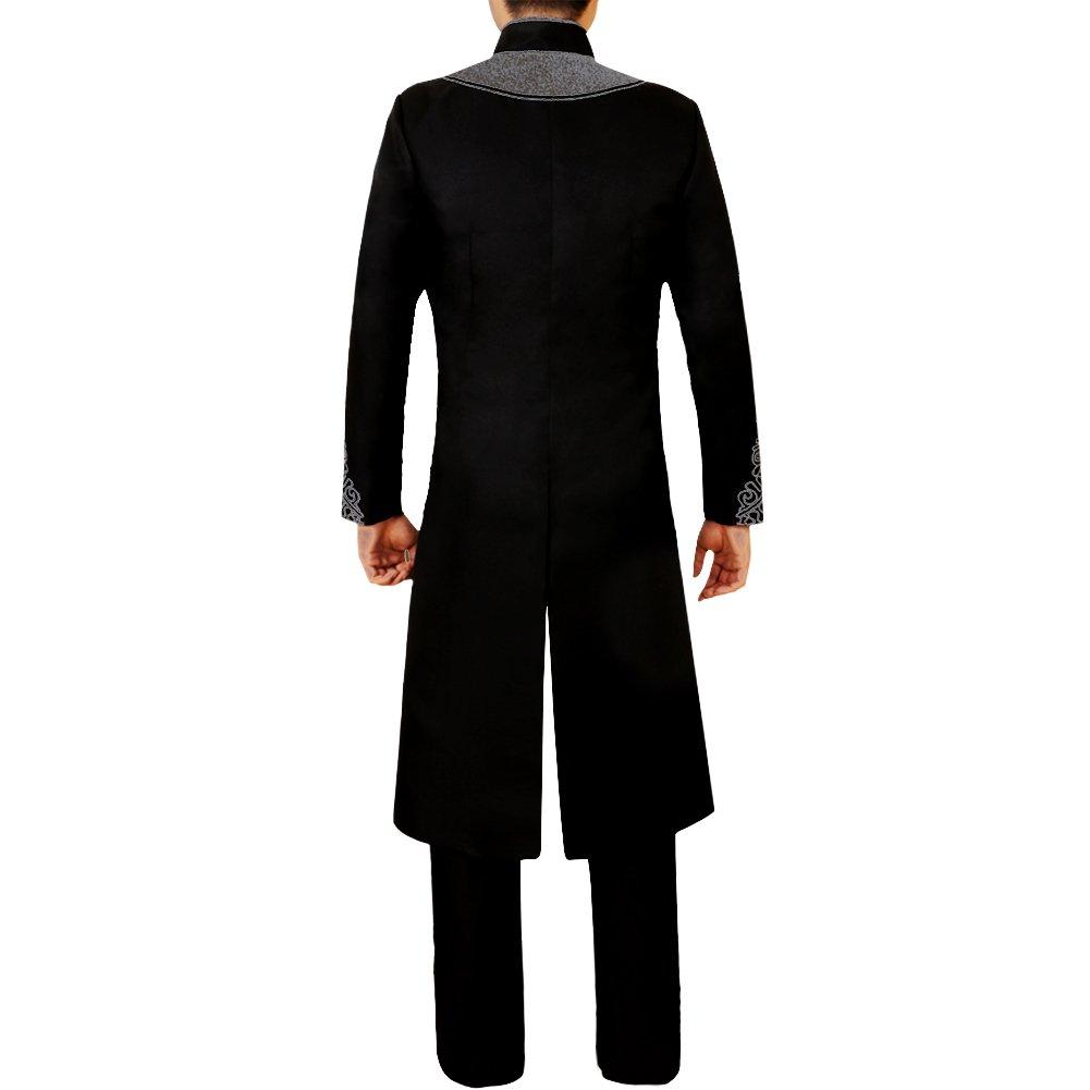 e45f4aa996e Amazon.com  CG Costume Men s Black Tuxedo T Challa 3D Print for Black  Panther Cosplay Costume  Clothing