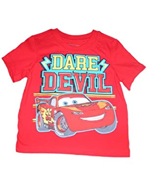 Cars Lightning McQueen Toddler Short Sleeve Shirt