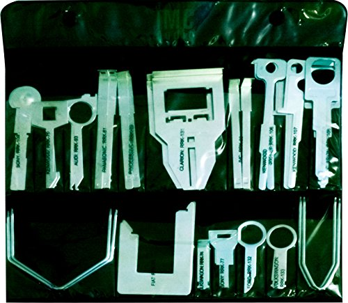 36-pc RADIO REMOVAL TOOL SET - Car Audio Tools Keys (Tool Saab Radio Removal)