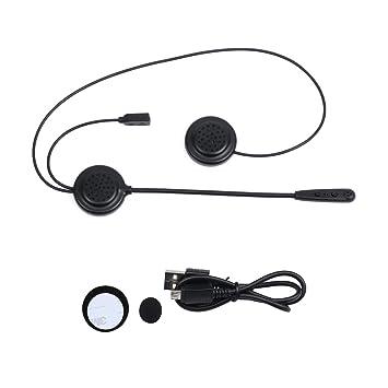 E200 casco de motocicleta auricular Bluetooth inalámbrico auriculares casco de comunicación de sistemas de comunicaciones con entrada auxiliar para motor ...