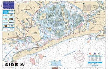 Waterproof Charts, Coastal Fishing, 62F Raritan Bay and Jamaica ()