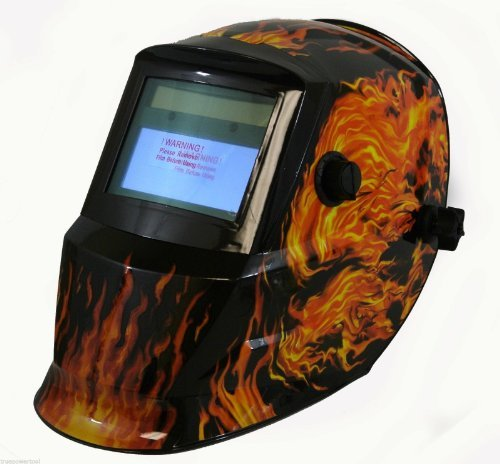 TruePower 09-1725 Solar Auto Darkening MIG Tig Skull Welding Helmet Welder Mask