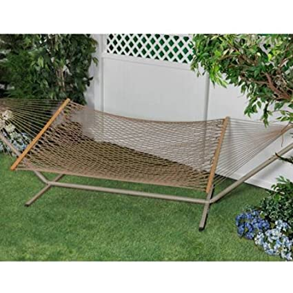 Bliss Hammock Classic Cotton Rope Brown