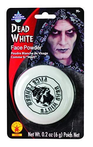 Rubies Dead White Face Powder Compact ()