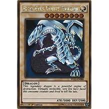 Yu-Gi-Oh! - Blue-Eyes White Dragon (PGL2-EN080) - Premium Gold: Return of the Bling - 1st Edition - Gold Rare by Yu-Gi-Oh!