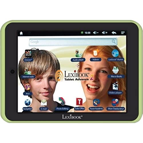 Lexibook S.A - Lexibook Kids Tablet Advance 2 - Lexibook Cloud - Office Suite - 12,000 Apps - Multimedia - Skill Coupons