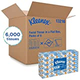Kleenex Professional Facial Tissue for Business (13216), Flat Tissue Boxes, 60 Boxes/Case, 100 Tissues/Box