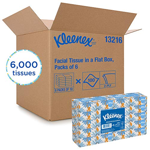 Kleenex Professional Facial Tissue for Business (13216), Flat Tissue Boxes, 60 Boxes/Case, 100 Tissues/Box by Kimberly-Clark Professional (Image #8)