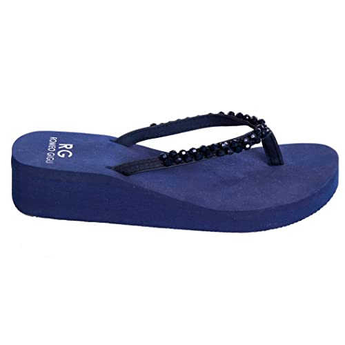buy online cf032 d7666 Romeo Gigli Infradito Ciabatte Sandali Girl Pantofole Mare Sport Piscina  RG836TD
