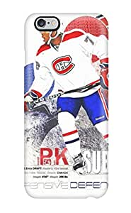 Premium [pTjaqQY10756SFlZd]montreal Canadiens (55) Case For Iphone 6 Plus- Eco-friendly Packaging(3D PC Soft Case)