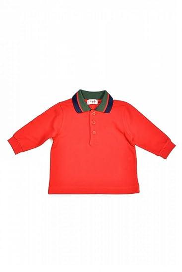 Il Gufo - Polo - para niño rojo 6 mes: Amazon.es: Ropa y accesorios