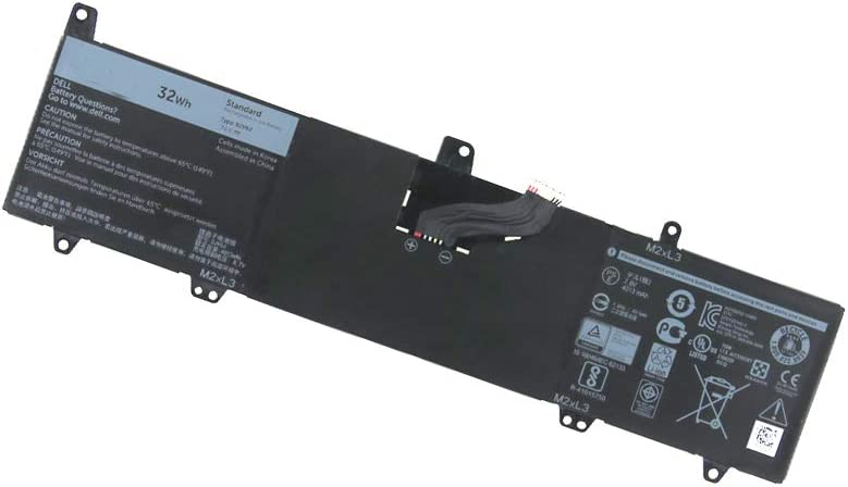 New 0JV6J Battery Compatible with Dell Inspiron 11-3000 3153 3162 3148 3164 OJV6J Series Laptop 7.6V 32Wh