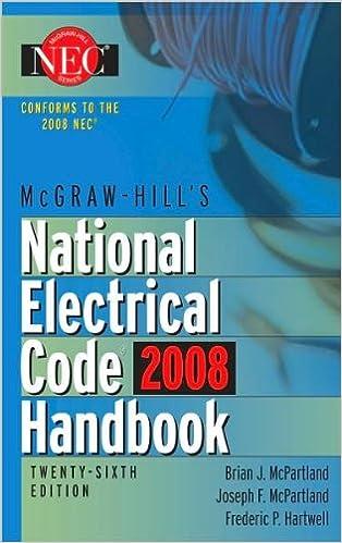 Free digital books online download McGraw-Hill National Electrical Code 2008 Handbook (text only) 26th edition by B.McPartland,J.McPartland,F.Hartwell PDF ePub MOBI