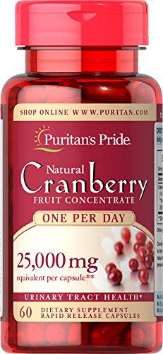 025077198771 - Puritan's Pride One A Day Cranberry -60 Capsules carousel main 0