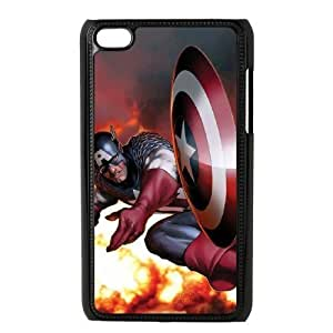 C-EUR Customized Phone Case Of Captain America For Ipod Touch 4 Kimberly Kurzendoerfer