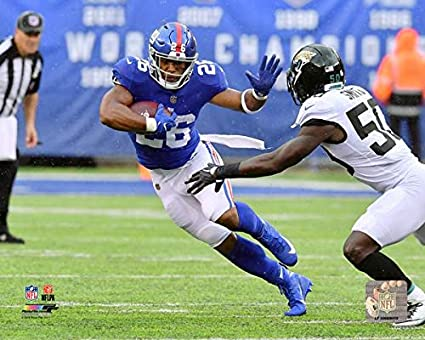 bee82879c Amazon.com  New York Giants Saquon Barkley 8x10 Photo Picture ...
