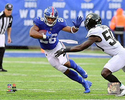 New York Giants Saquon Barkley 8x10 Photo Picture ()