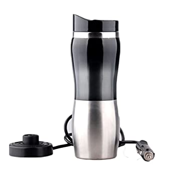 Kangsur Calentador de Agua del Coche Calentador de Agua Copa de EbulliciÓN Botella de Encendedor de