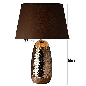 AOLI Lampe de Table Lampe de Table en céramique émaillée ...